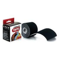 Bandes de taping Therapy Tape-[Couleur:Noir]-[Longueur: Rouleau de 5 m]