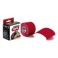 Bandes de taping Therapy Tape-[Couleur:Rouge]-[Longueur: Rouleau de 5 m]