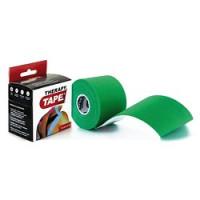 Bandes de taping Therapy Tape-[Couleur:Vert]-[Longueur: Rouleau de 5 m]