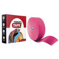 Bandes de taping Therapy Tape-[Couleur:Rose]-[Longueur: Rouleau de 5 m]