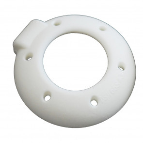 Pessaire silicone Gyn&Dish avec bouton