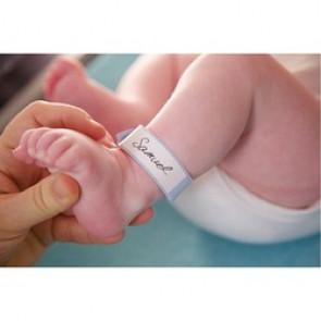 Bracelet d'identification pour bébé (100 PIÈCES)
