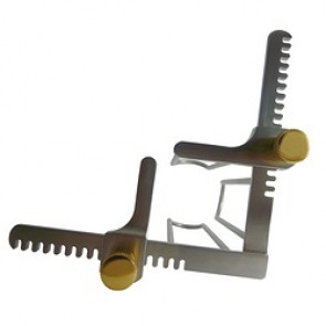 Spéculum 4 valves INOX ( La pièce )